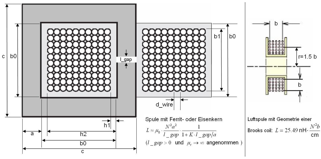induktivit t spule berechnen dekoration bild idee. Black Bedroom Furniture Sets. Home Design Ideas